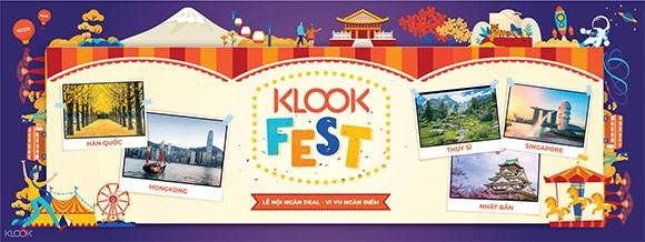 2019年Klook Travel Fest将在胡志明市举行 hinh anh 1