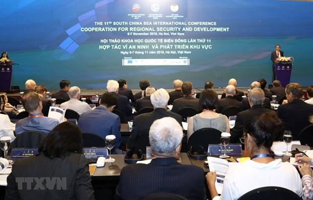 第十一次东海国际学术研讨会闭幕 有利于维护海上的和平与稳定 hinh anh 1