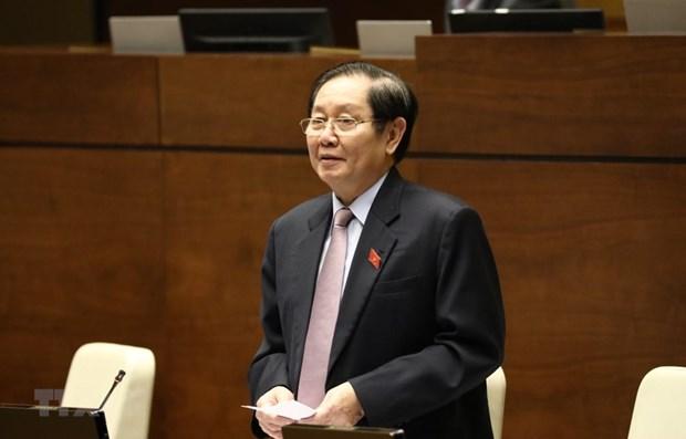 越南内政部部长黎永新:进一步提高干部、公务员素质 hinh anh 1