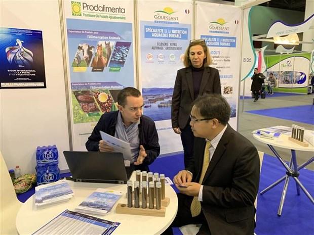 越南出席在阿尔及利亚举行的2019第八届国际渔业和水产养殖业展 hinh anh 2