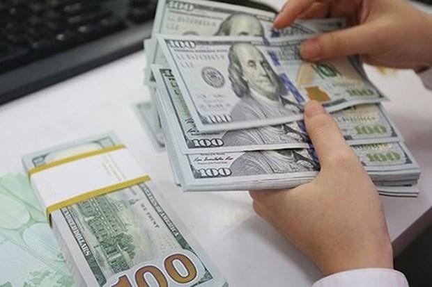 11月7日越盾对美元汇率中间价上涨5越盾 hinh anh 1