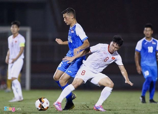 2020年亚足联U19足球锦标赛预选赛J组比赛:越南队以3-0击败蒙古队 hinh anh 1