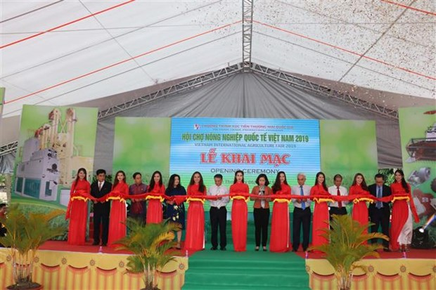 2019年越南国际农业展会开展 hinh anh 1