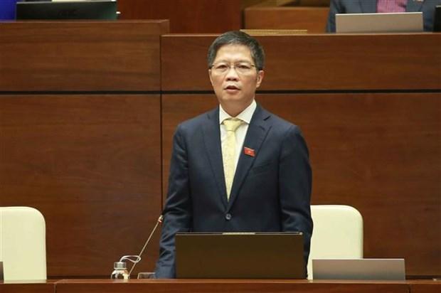 越南第十四届国会第八次会议:对越南工贸部长和内政部长进行专题询问 hinh anh 2