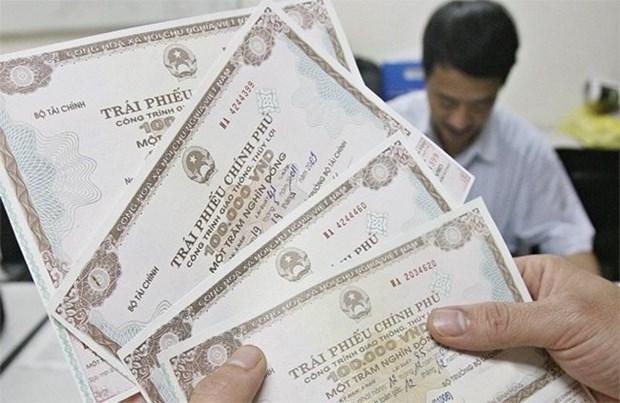 越南政府债券发行:本周成功筹资3.3万亿越盾 hinh anh 1