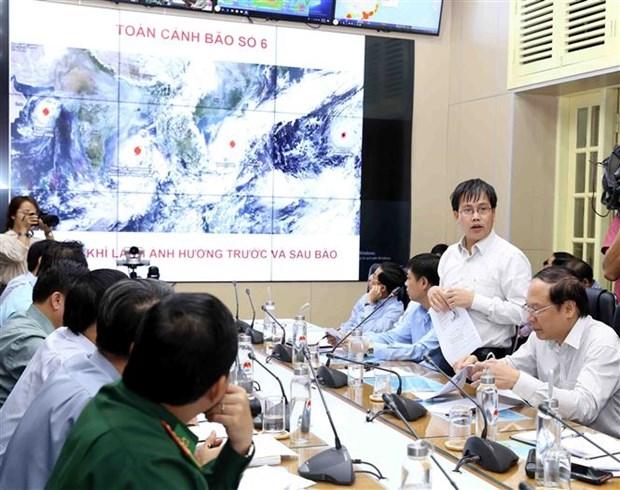 政府副总理郑廷勇主持召开视频会议 部署第六号台风应对工作 hinh anh 2