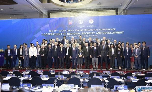 第十一次东海国际学术研讨会在开放坦诚气氛中举行并取得实效 hinh anh 1