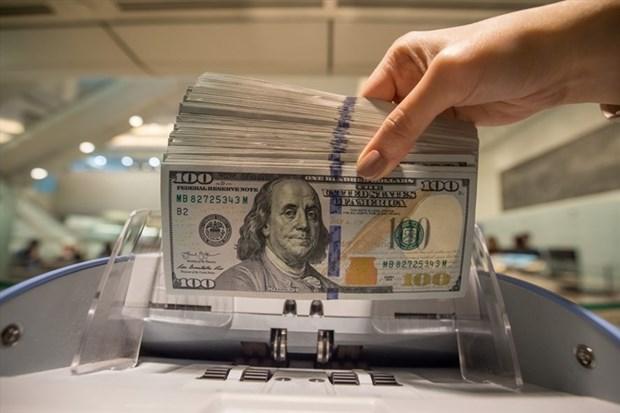 11月8日越盾对美元汇率中间价下降1越盾 hinh anh 1