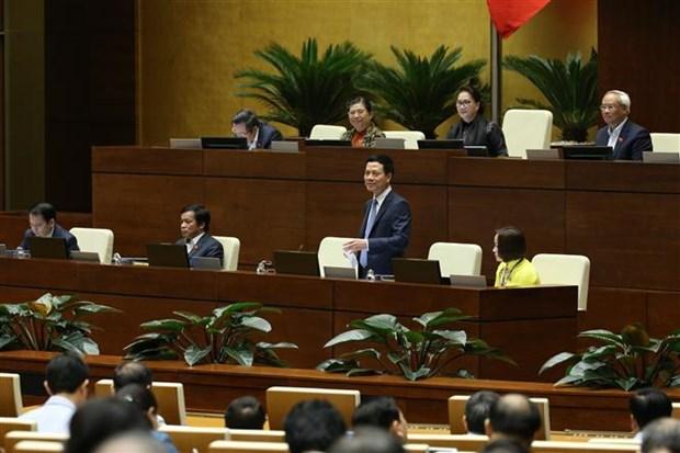 越南第十四届国会第八次会议:政府总理接受询问 hinh anh 1