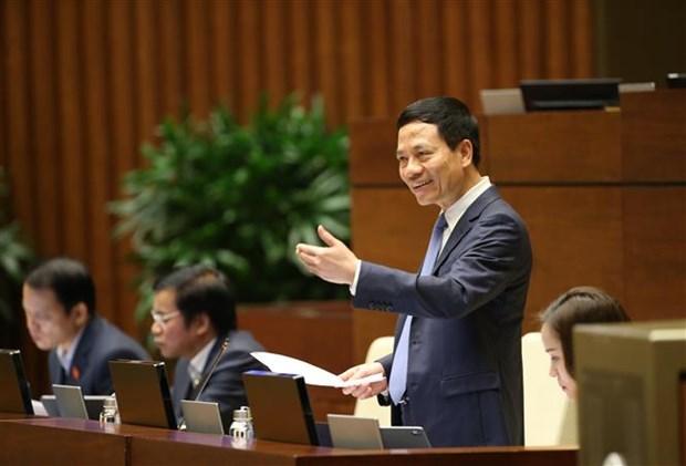 越南第十四届国会第八次会议:健全法制打击网络虚假新闻 hinh anh 1