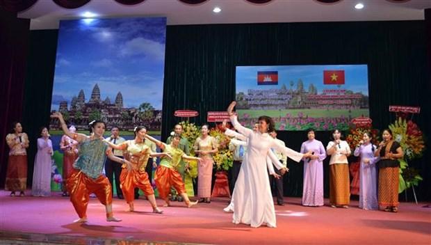 柬埔寨独立日66周年庆祝活动在胡志明市举行 hinh anh 1