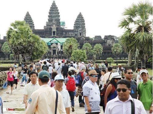 越南成为柬埔寨第二大客源市场 hinh anh 1