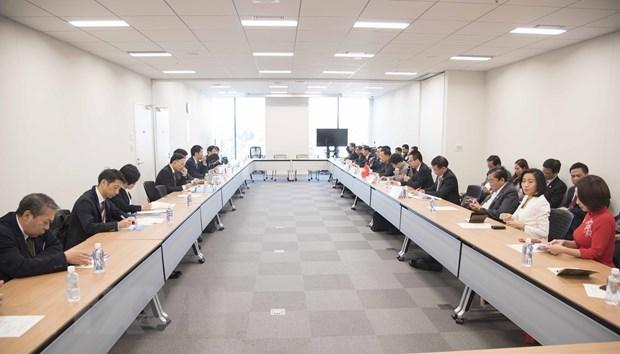 日本与越南各地方加强合作 hinh anh 1