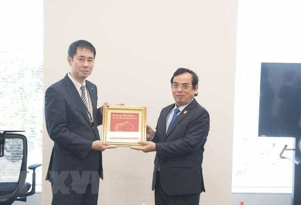 日本与越南各地方加强合作 hinh anh 2