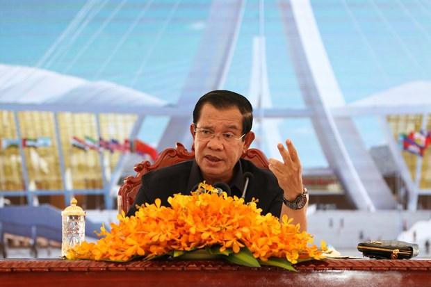 柬埔寨首相启动价值为600亿美元的《2019至2023年国家发展战略计划》 hinh anh 1