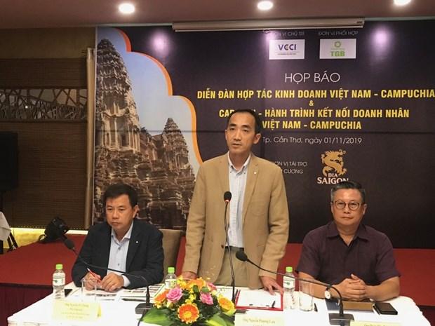 越柬商务合作论坛将于12月举行 hinh anh 1