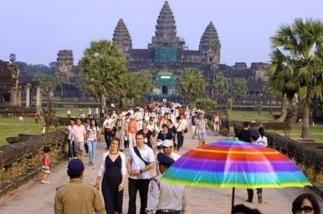 赴柬外国游客人数呈现猛增态势 hinh anh 1