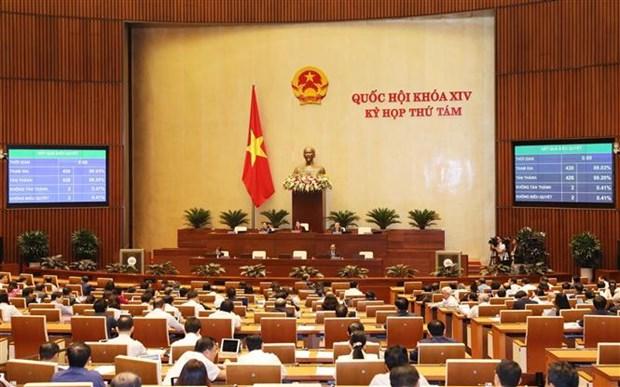 越南第十四届国会第八次会议通过关于2020年经济社会发展计划的决议 hinh anh 1