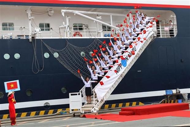 东南亚与日本青年船抵达越南 hinh anh 3