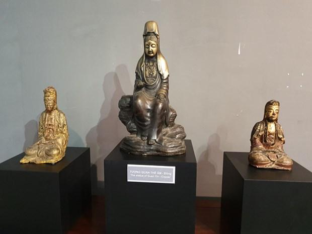 古佛像雕塑展览亮相胡志明市美术博物馆 hinh anh 2