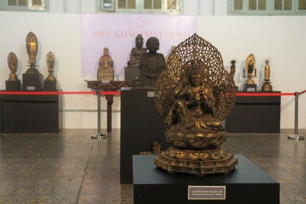 古佛像雕塑展览亮相胡志明市美术博物馆 hinh anh 1