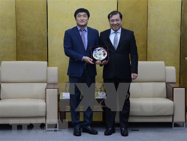 韩国帮助岘港市减轻自然灾害 hinh anh 1