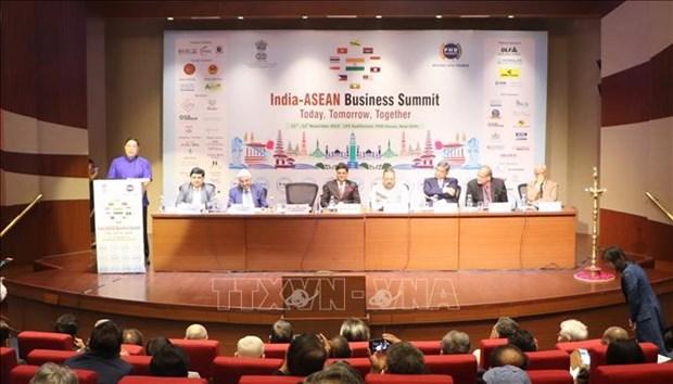 """东盟与印度以加强""""互联互通""""促进经济发展 hinh anh 1"""