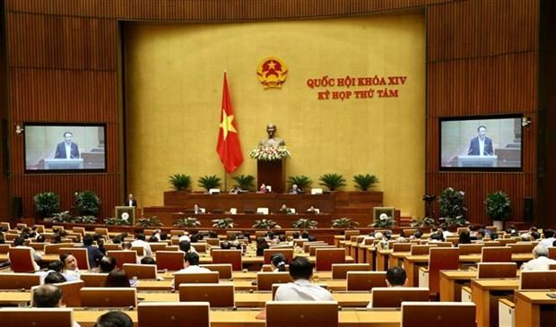 越南第十四届国会第八次会议:讨论龙城国际航空港项目一期工程可行性研究报告 hinh anh 1