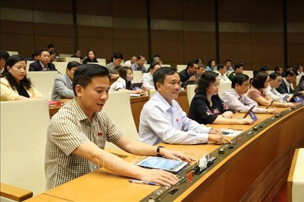 越南第十四届国会第八次会议:通过关于2020年国家财政预算的决议 hinh anh 1