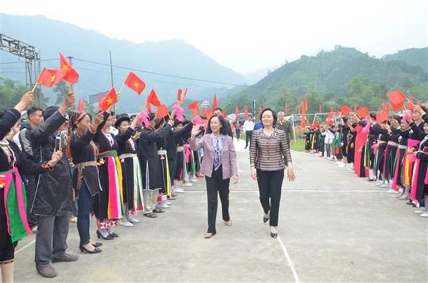 """""""全民族大团结日""""庆祝活动在全国各地举行 陈青敏等党和国家领导人出席 hinh anh 2"""