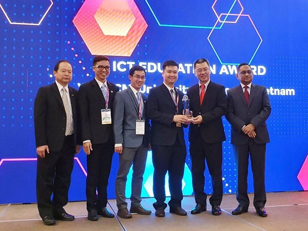 越南三个单位荣获ASOCIO奖颁奖 hinh anh 1