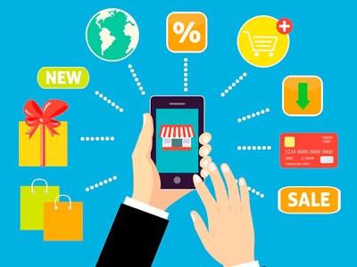 电子商务与传统销售的对决 hinh anh 1