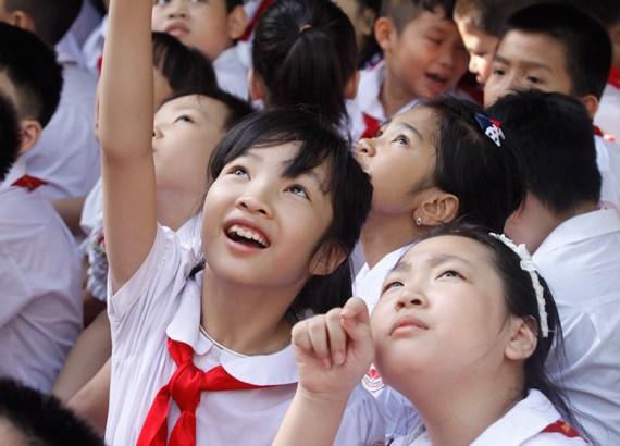 河内和胡志明市将举行系列活动纪念《儿童权利公约》颁布30周年 hinh anh 2