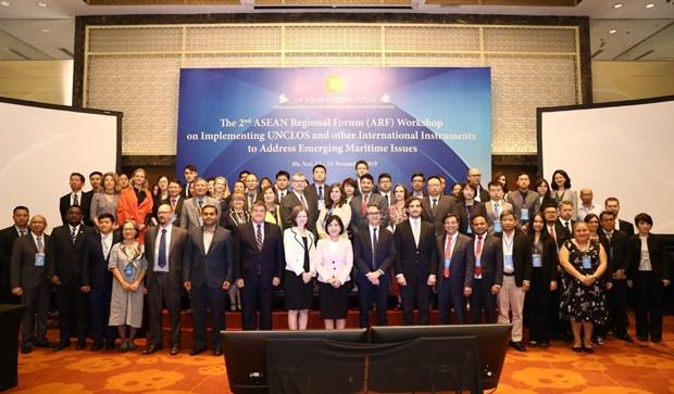关于落实《海洋法公约》的第二次东盟区域论坛研讨会在河内举行 hinh anh 2