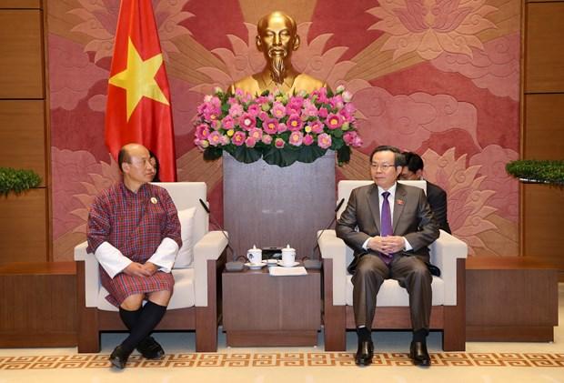 越南国会副主席冯国显会见不丹审计署审计长切细·克桑 hinh anh 1
