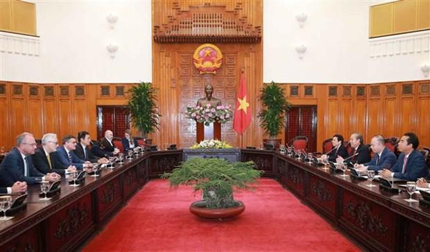 越南政府副总理张和平会见德国黑森州议会议长 hinh anh 2