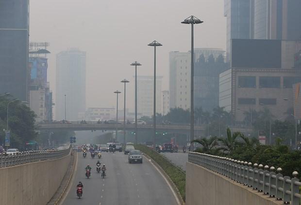 越南首都河内空气质量持续恶化 hinh anh 1