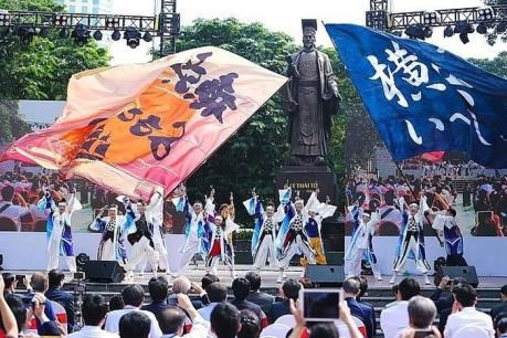 日本神奈川县节即将亮相河内 hinh anh 1