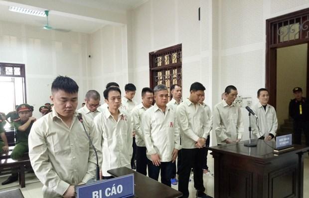 广宁省破获一起特大跨境贩运毒品案 5名被告人获死刑 hinh anh 1