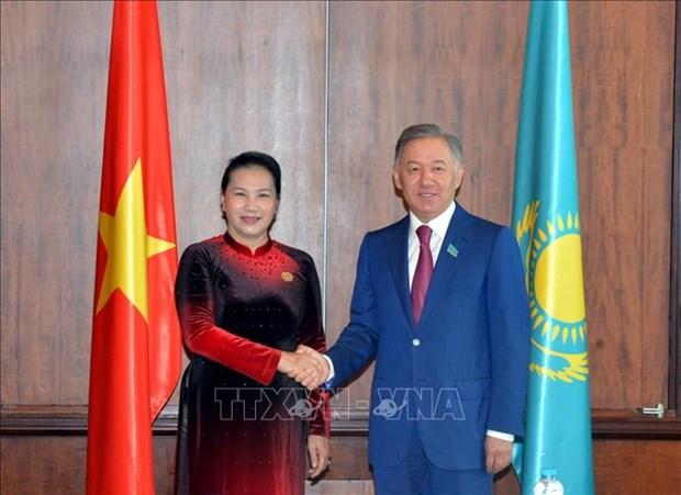 越南和哈萨克斯坦促进双边关系 hinh anh 1