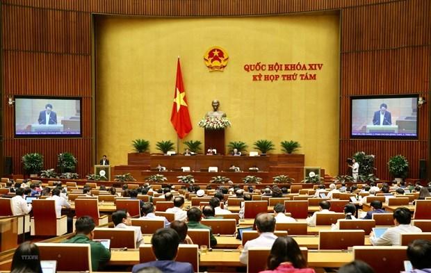 越南第十四届国会第八次会议:表决通过2020年中央财政专项安排方案的决议 hinh anh 1