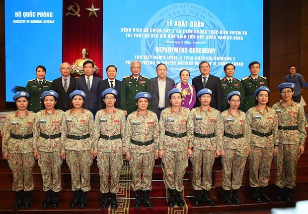 越南2号2级野战医院致力于成为联合国维和部队的典范 hinh anh 2