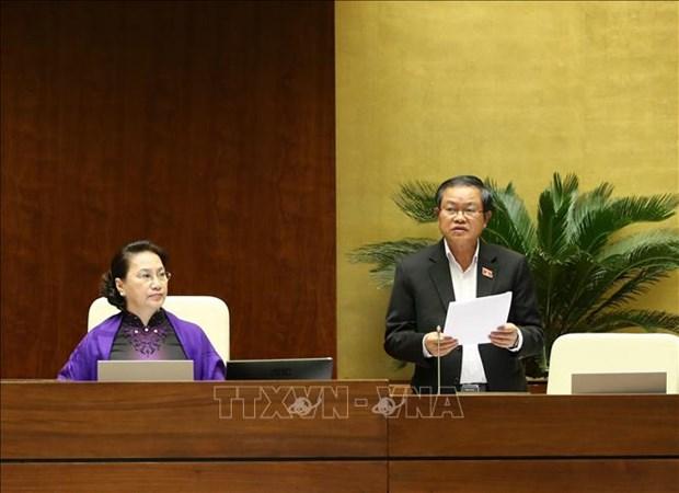 越南第十四届国会第八次会议公报(第十九号) hinh anh 1