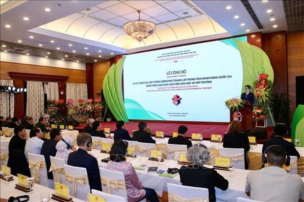 """越南成立""""消除有毒化学品及环境处理国家行动中心"""" hinh anh 1"""