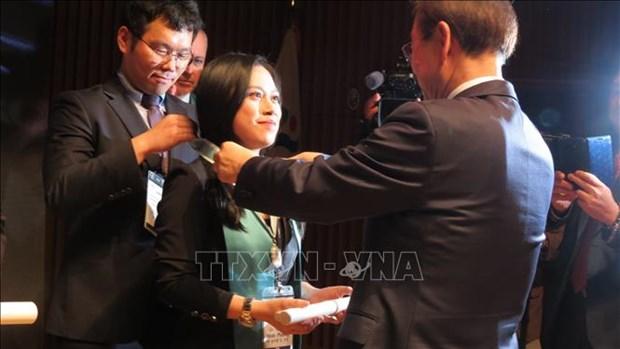 """首位越南公民被授予""""首尔市荣誉市民""""证书 hinh anh 1"""