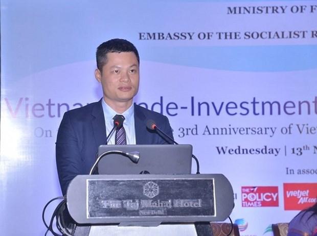 越南可成为印度企业和商品进军世界上各大市场的门户 hinh anh 1