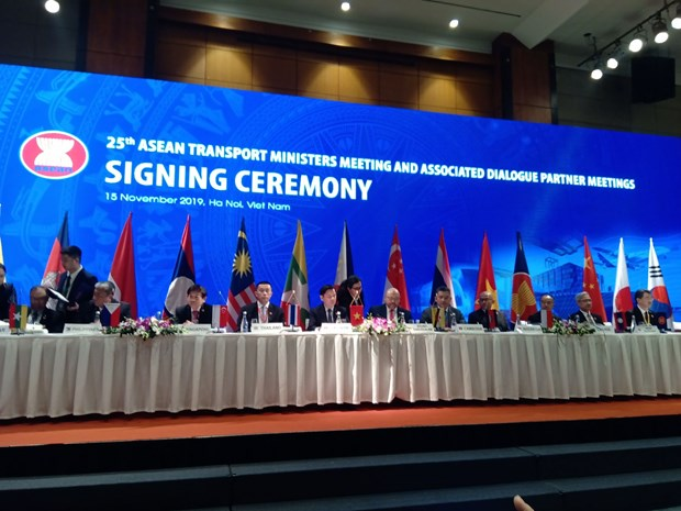 第十届东盟—韩国交通运输部长级会议在河内举行 hinh anh 1