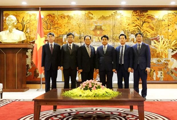 河内市为韩国投资项目顺利开展创造便利条件 hinh anh 1