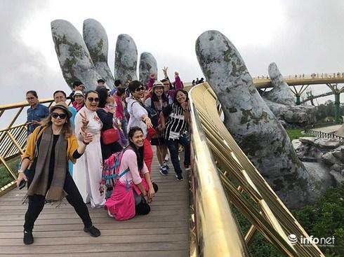 泰国游客在赴岘港国际游客人数排榜上位居第三 hinh anh 1