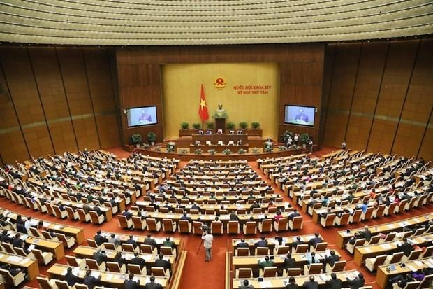 越南第十四届国会第八次会议:分组讨论四部法案 hinh anh 1